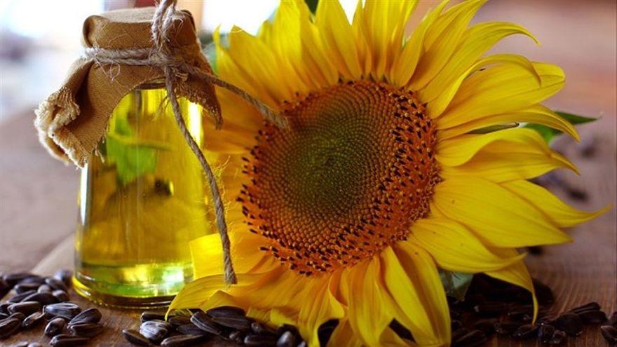 Aceite de semillas de girasol y de germen de trigo