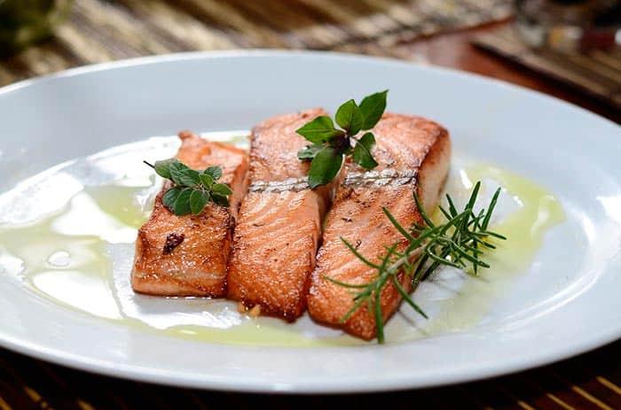 Filetes de salmón