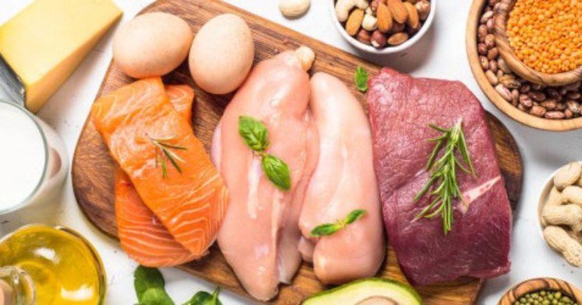 fuentes animales de proteínas